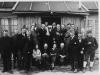 Utenfor funksjonærmessen på Tunheim 1924. Foto: Norsk Polarinstitutt