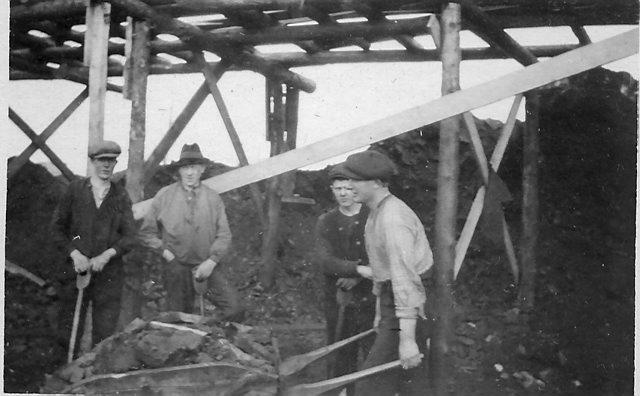 Gruvedrift på Tunheim. Foto: Norsk Polarinstitutt
