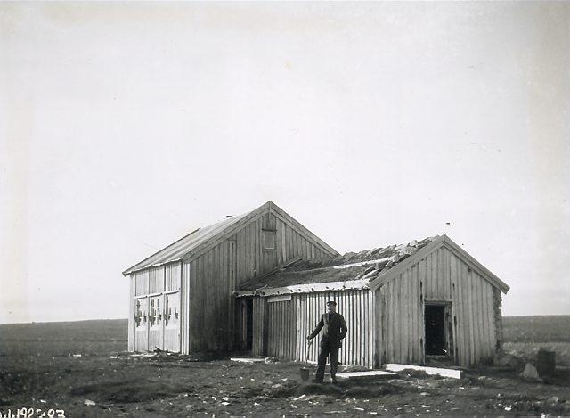 Tobiesenhuset i Herwighamna. Foto: Norsk Polarinstitutt