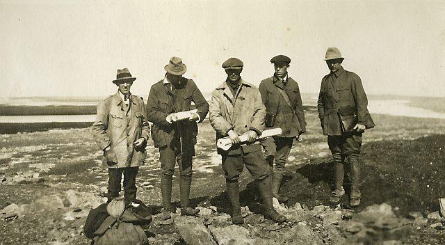Ekspedisjonsmedlemmer. Foto: Norsk Polarinstitutt