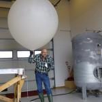 Vidar slipper dagens værballong