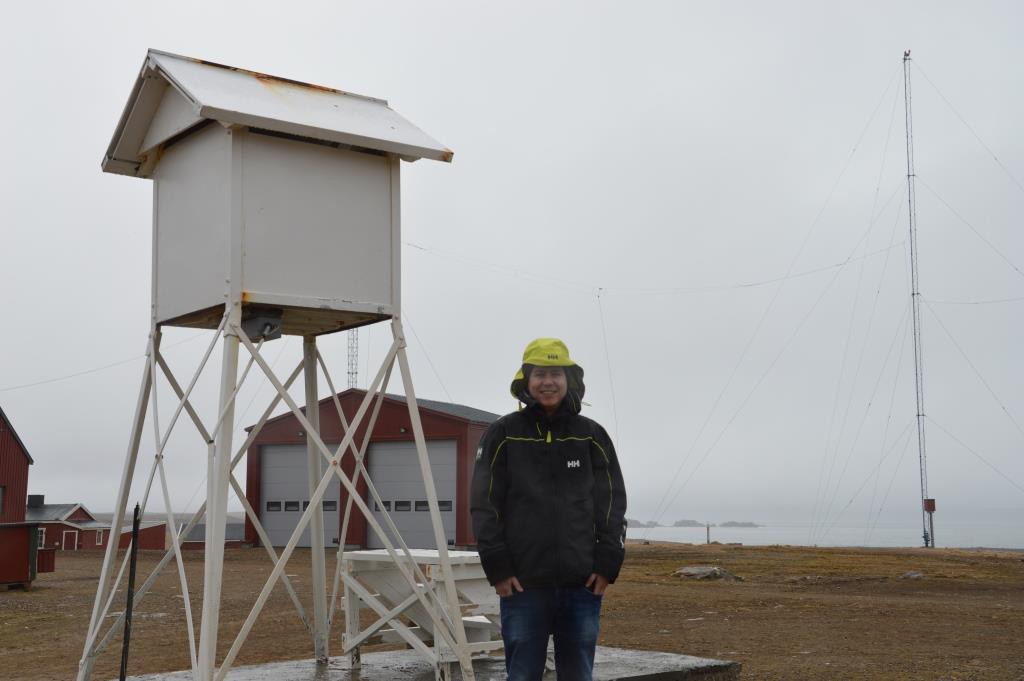 Thomas Holgersen på Bjørnøya k