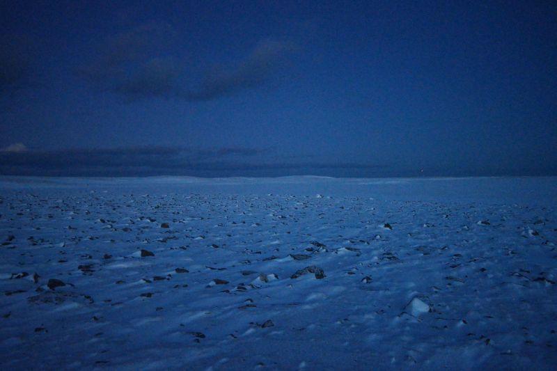 Laksvatnet i den blå timen. Foto: BOF
