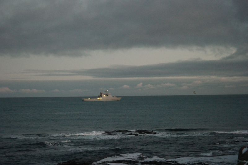 KV Svalbard er en viktig samarbeidspartner for oss på Bjørnøya. Foto: BOF