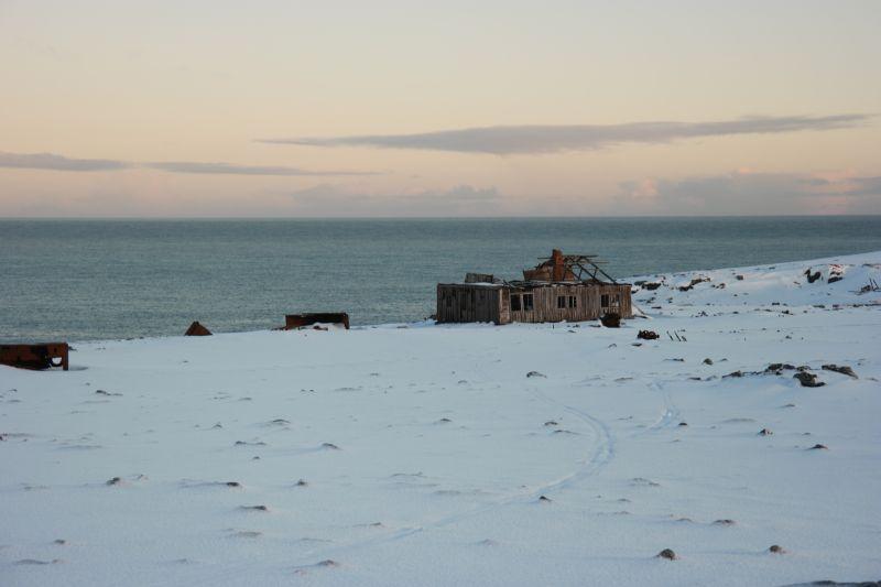 Ruiner på Tunheim. Foto: BOF