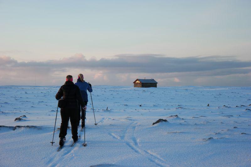 Tunheimturistene Kristine og Ragnhild. Foto: BOF