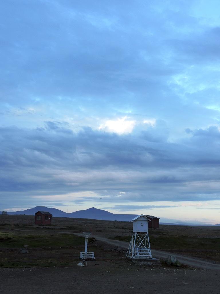 Tordenhimmel over Bjørnøya