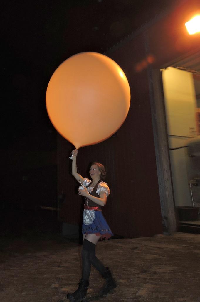 Oktoberballong!