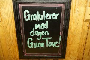 Gratuler med dagen Gunn Tove