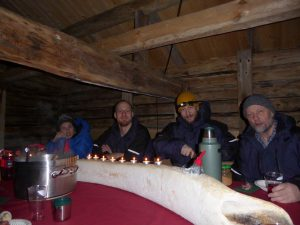 Julegrøt i Hammerfest huset