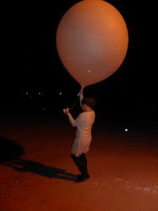 Årets siste ballong