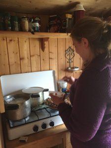 Kristine lager middag