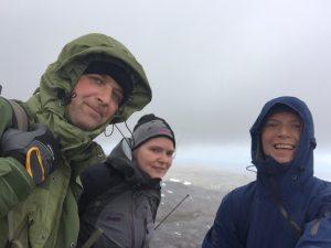 På toppen av Antarcticfjellet