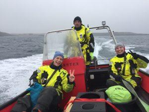 Margrete, Jørn og Kristine N.T.