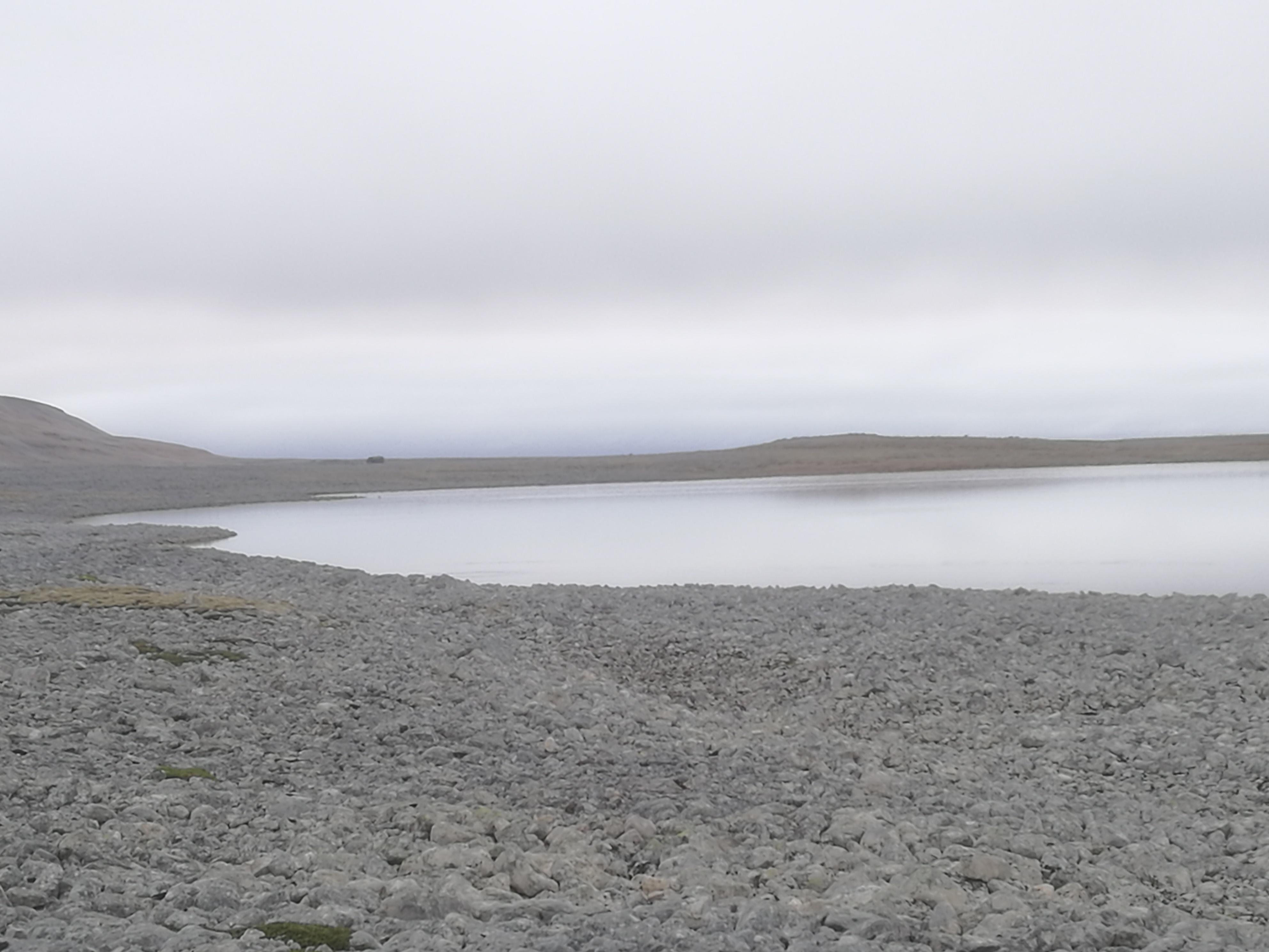 Ett av øyas flotte fiskevann