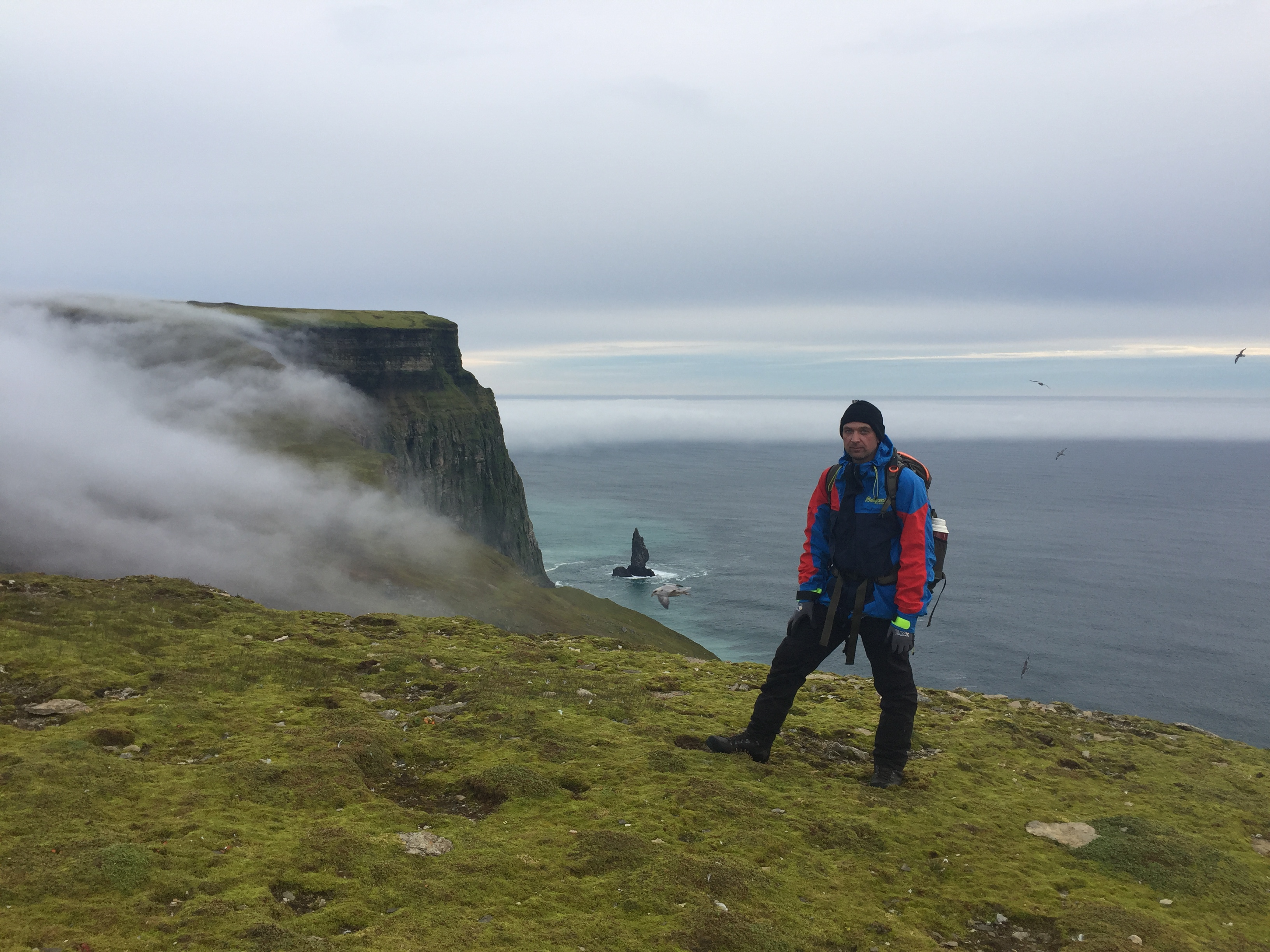 Alfredfjellet (421 moh) og Sylen