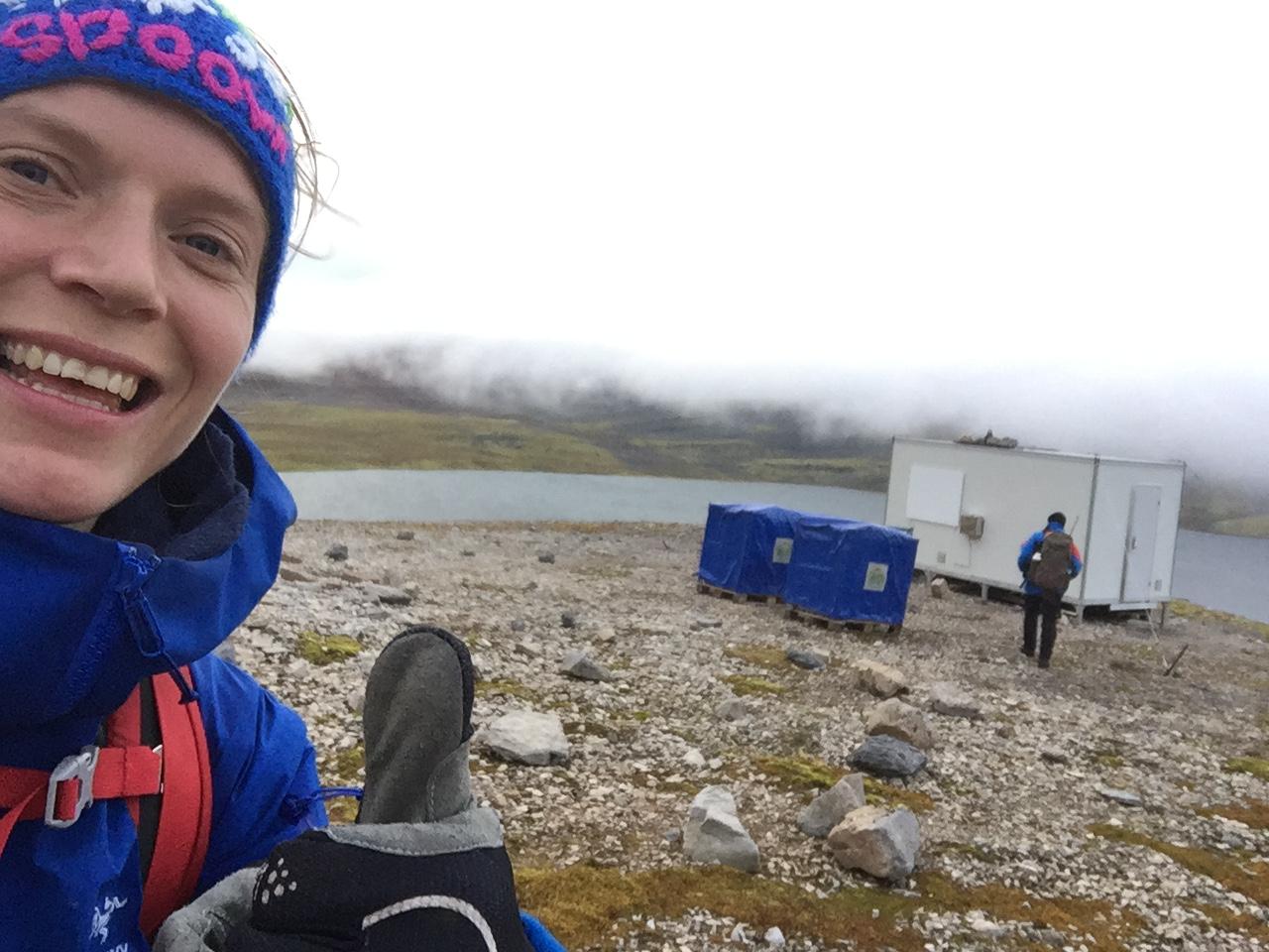 NP's hytte ved Ellasjøen