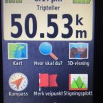 Totalt 50,5 km etter 2 dager