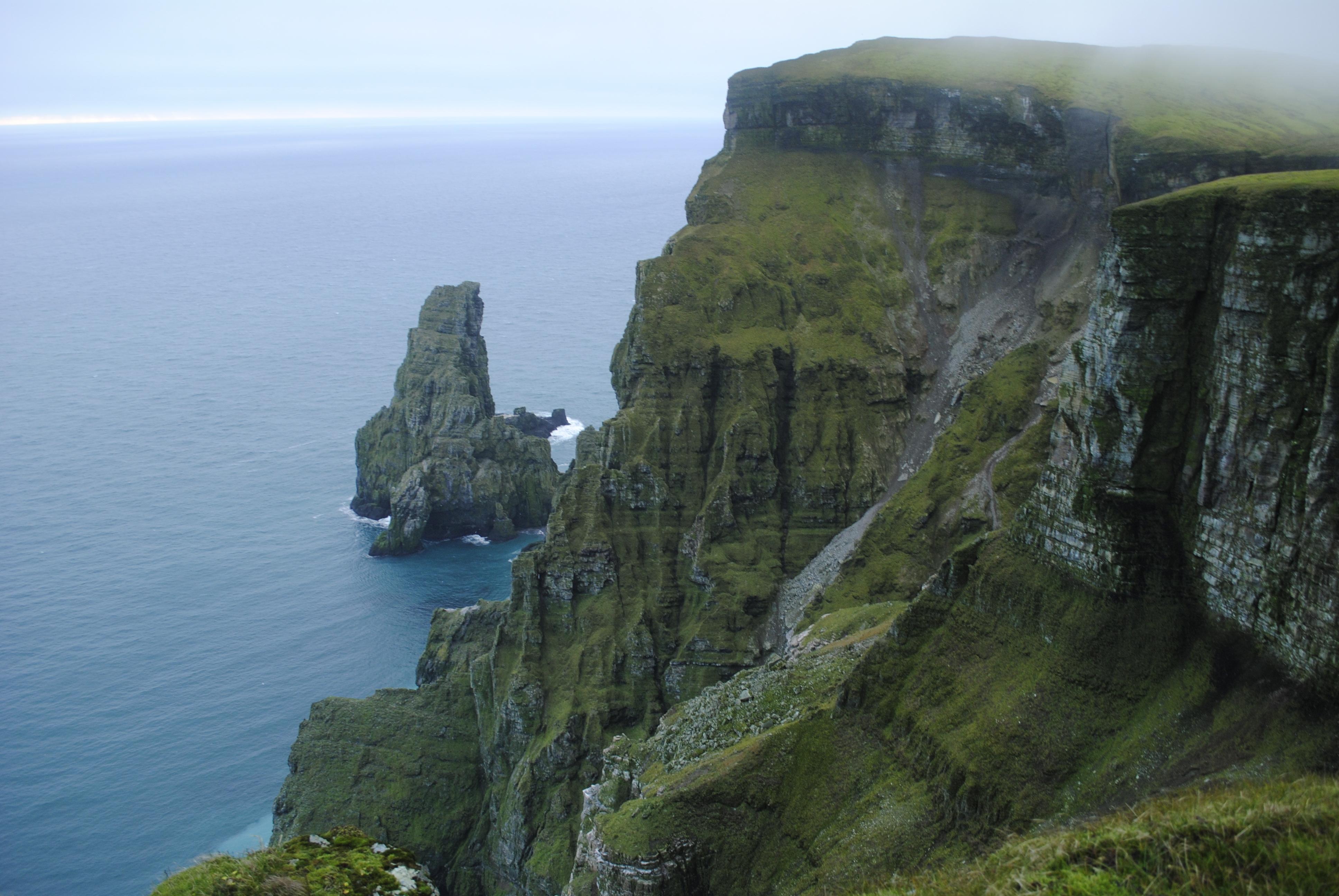 Utsikt til Stappen og øyas sørligste punkt