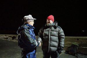 Stedlig leder, Erik Sommerseth, ønsker Knut-Einar takk for overlappen og en god tur hjem.